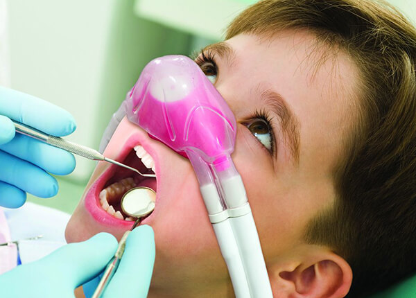 Nitrous Oxide is offered at  Premier Valley Dental
